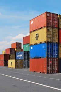 kontenery towar z Chin
